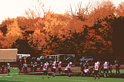 Classic - Autumn Football with Cutout Effect by Frank Romeo