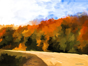 Autumn Fringe Print by Jo-Anne Gazo-McKim