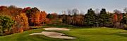 Andrea Kollo - Autumn Golfing - Golf Course