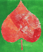 Lead Mixed Media Posters - Autumn Poster by Heidi Causey