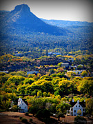Prescott Photos - Autumn in a Mountain Town by Aaron Burrows