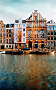 Kunst Prints - Autumn in Amsterdam III Print by Photodream Art