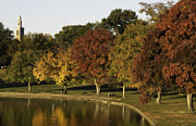 Dogwood Lake Prints - Autumn in Byrd Park Print by Kelvin Booker