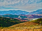 Autumn In Cache Valley Print by Stephen Lawrence Mitchell