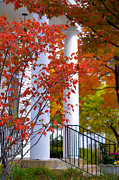Fall Scenery Prints - Autumn in Long Grove 2 Print by Julie Palencia