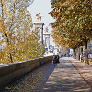 My Art In Your Home Slide Show  - Autumn in Paris - 1954 by Chuck Staley