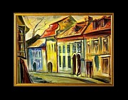 Prague Mixed Media - Autumn in Prague by Kirill Postovit