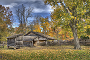 Indiana Autumn Posters - Autumn in Southern Indiana Poster by Wendell Thompson