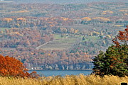Finger Lakes Framed Prints - Autumn in the Finger Lakes Framed Print by Robert Harmon