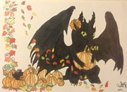 Blue Dragon Art - Autumn is upon us by Blue Dragon