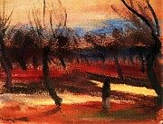 Autumn Landscape Paintings - Autumn Landscape by Pg Reproductions