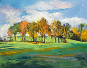 Autumn Light Posters - Autumn Light Poster by Michael Creese
