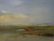 Cape Cod Paintings - Autumn Marsh by Michael Marrinan