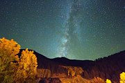Milkyway Prints - Autumn Milky Way Print by James Bo Insogna
