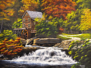 Gary Adams - Autumn Mill