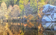 Dominic Piperata - Autumn Mist at Lake Fulmor