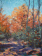 National Parks Paintings - Autumn by Monica Caballero