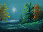 Gary Adams - Autumn Moonlight