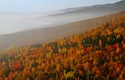 Cabot Prints - Autumn mountains at the Cabot Trail Print by Jetson Nguyen