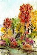 Anneke Hut Art - Autumn Ode by Anneke Hut