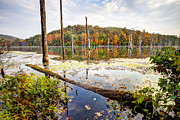 Autumn On Monksville Reservoir - Long Pond Ironworks Print by Gary Heller