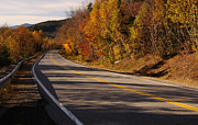 Scenic Drive Posters - Autumn on the Kancamagus Highway Poster by Luke Moore