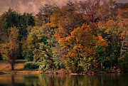 Deena Stoddard - Autumn On The Lake