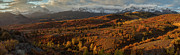 Dolores Framed Prints - Autumn Panorama Framed Print by Jennifer Grover