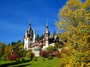 Castle Photo Originals - Autumn - Peles Castle by Sorin Ghencea