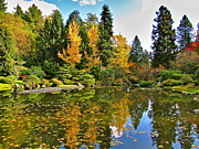 Washington - Autumn Pond by Sean Griffin