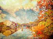 Tracy Munson Metal Prints - Autumn Reflections Metal Print by Tracy Munson