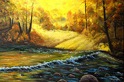 Connie Tom - Autumn River Glory