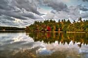 Autumn Sky Print by Flora Ehrlich