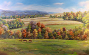 Autumn Scenes Art - Autumn Splendor by Michele Tokach