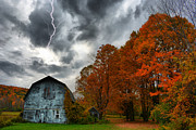 Farm Scenes Photos - Autumn Strike by Emily Stauring