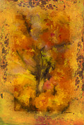 Autumn Prints Mixed Media Posters - Autumn Tree Poster by Andrea Auletta
