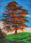 P Dwain Morris - Autumn tree