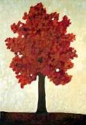 Painter Mixed Media - Autumn Tree by Venus