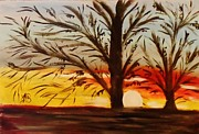 Marie Bulger - Autumn Trees