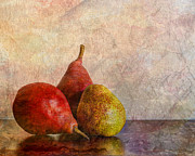 Pear Art Posters - Autumn Trio  Poster by Heidi Smith