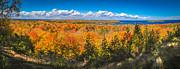 Autumn Vistas Of Nicolet Bay Print by Shutter Happens Photography