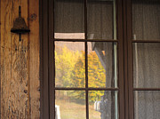 Nancy  de Flon - Autumn Window Reflections