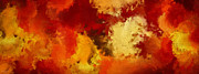 Maple Art - Autumns Abstract Beauty by Lourry Legarde