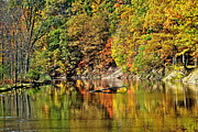 Autumn Landscape Prints - Autumns Glow Print by Robert Harmon