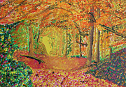Harold Greer Art - Autumns Light by Harold Greer