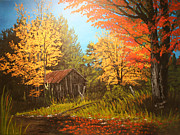 Wendy Shoults - Autumns Rustic Road