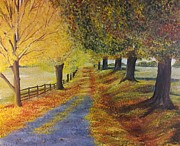 Pathway Paintings - Autumns Whisper by Sierra Day
