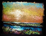 Leaf Pastels Originals - Avalon Glow by Peter R Davidson