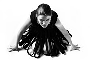 Avant Garde Fashion Print by Diane Diederich