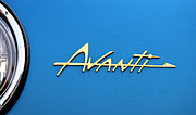 Car Emblems Prints - Avanti Car Emblem Print by Bob Christopher